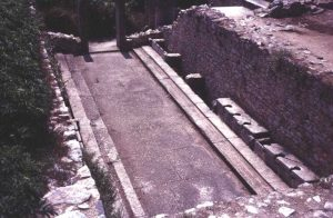 Latrines at Philippi